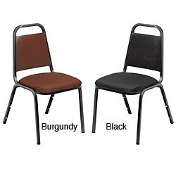 Standard Vinyl-upholstered Stackable Chair