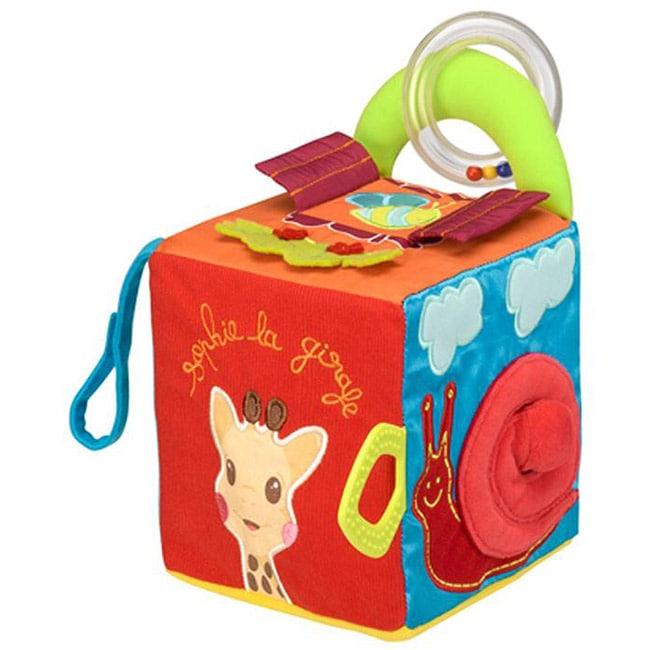 Vulli 'Sensitiv' Sophie' Giraffe Teething Cube