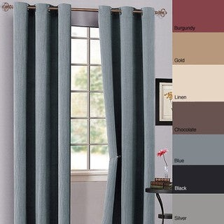 Urban Hotel Grommet 84-inch Curtain Panel