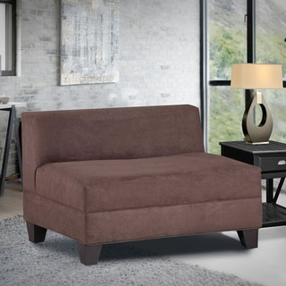 Makenzie Chocolate Brown Loveseat