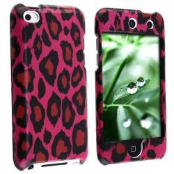Hot Pink Leopard Case for Apple iPod touch 4th Gen