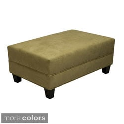Makenzie Khaki Cocktail Ottoman