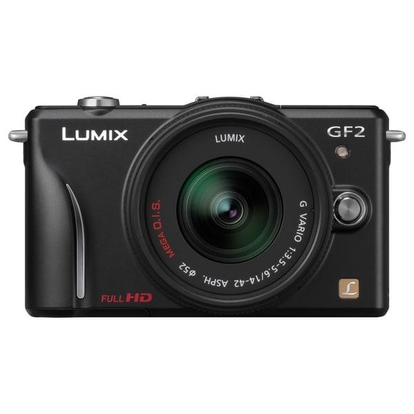 Panasonic Lumix DMC-GF2 12.1 Megapixel Mirrorless Camera with Lens -