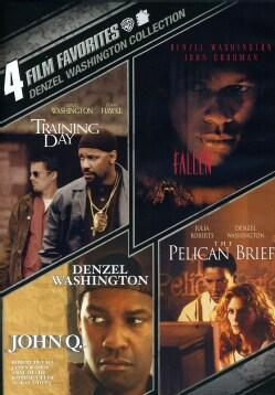 4 Film Favorites: Denzel Washington (DVD)