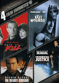 4 Film Favorites: Steven Seagal Action (DVD)