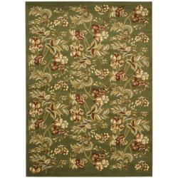 Safavieh Lyndhurst Collection Floral Sage Rug (9' x 12')