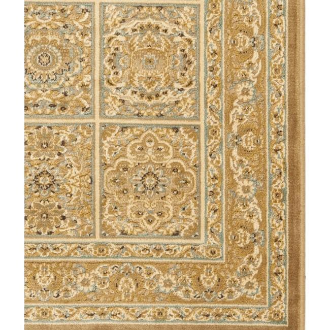 Safavieh Paradise Mahal Beige Viscose Rug (7'10' x 11'2)