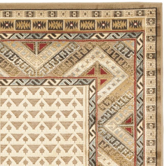 Safavieh Paradise Garden Ivory Viscose Rug (7'10' x 11'2)