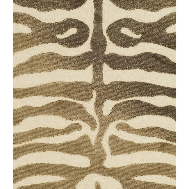 Paradise Tiger Strip Cream Viscose Rug (7'10' x 11'2)