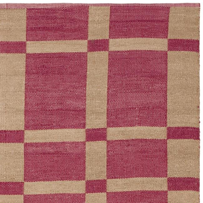 Handmade Thom Filicia Chatam India Red Outdoor Rug 3 x 5