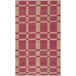 Handmade Thom Filicia Chatam India Red Outdoor Rug (3' x 5')