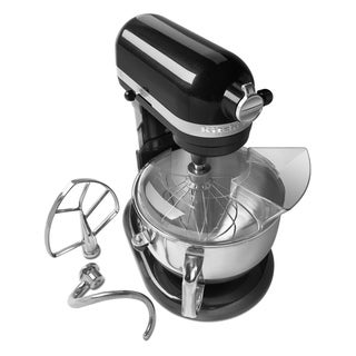 KitchenAid RKP26M1XCV Caviar 6-quart Pro 600 Bowl-Lift Stand Mixer (Refurbished)