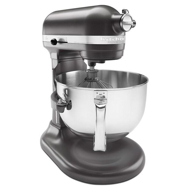 KitchenAid RKP26M1XDP Dark Pewter 6-quart Pro 600 Bowl-Lift Stand Mixer (Refurbished)