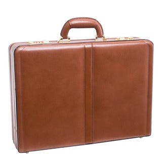 McKlein USA Harper Leather Attache Briefcase