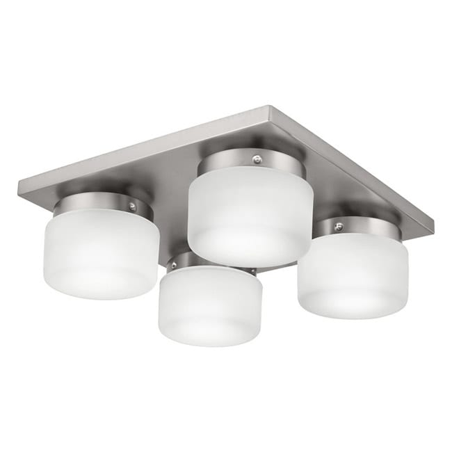 Circa 4-light Fluorescent Flush Mount Ceiling Fixture