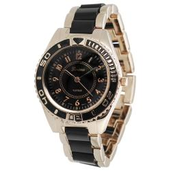 Geneva Platinum Women's Stainless-Steel Link Watch