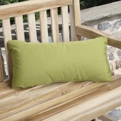 Charisma Outdoor Green Pillow Made with Sunbrella