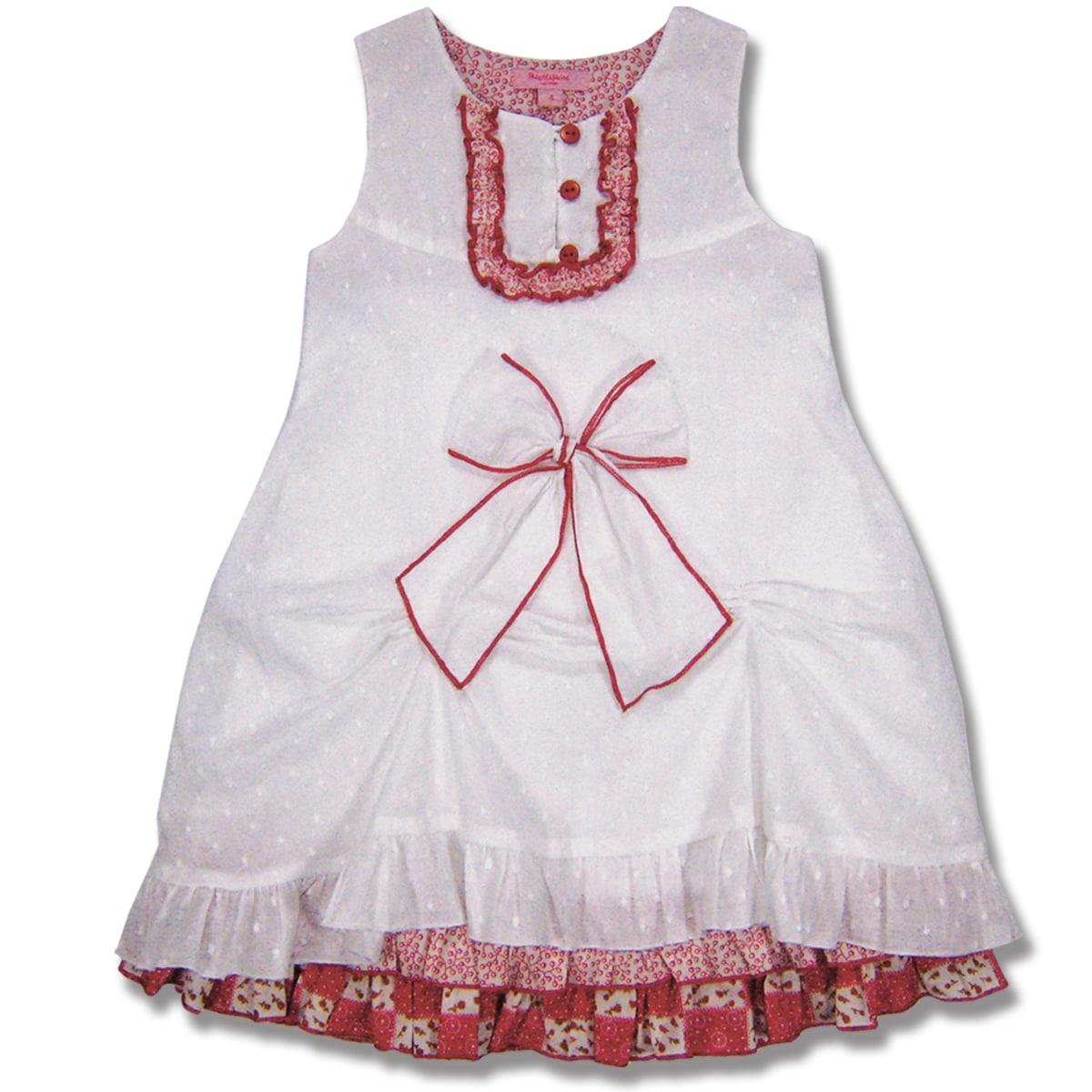 Beetlejuice London Girl's Swiss Dot Dress