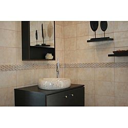 Concrete Triangle Marble Sink