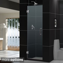 DreamLine Unidoor 27x72-inch Frameless Hinged Shower Door