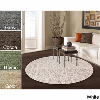 Sale alerts for  nuLOOM Alexa My Soft and Plush Multi Shag Rug (5' Round) - Covvet
