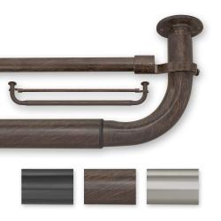 Barricade 52-74 Inches Energy Efficient Double Window Hardware