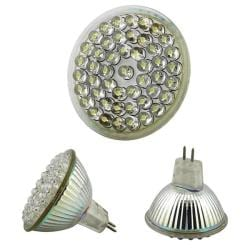 INSTEN MR16 White 48-LED Light Bulb 2.4W