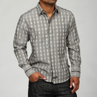 English Laundry Men's Revolution Woven Shirt