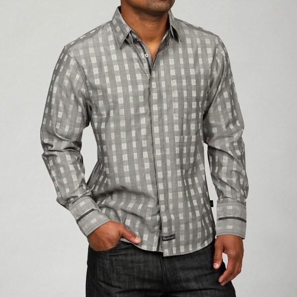 English Laundry Men's Revolution Woven Shirt
