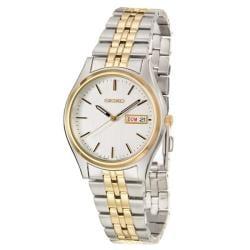 Seiko Men's 'Bracelet' Two-tone Stainless Steel Quartz Watch