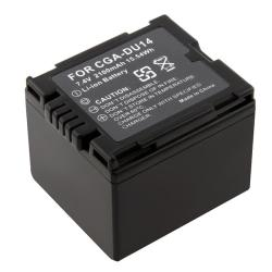 Compatible Li-ion Battery for Panasonic CGA-DU12/ CGA-DU14/ CGA-DU21