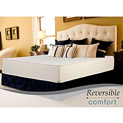 Select Luxury Reversible 12-inch Cal King-size Foam Mattress