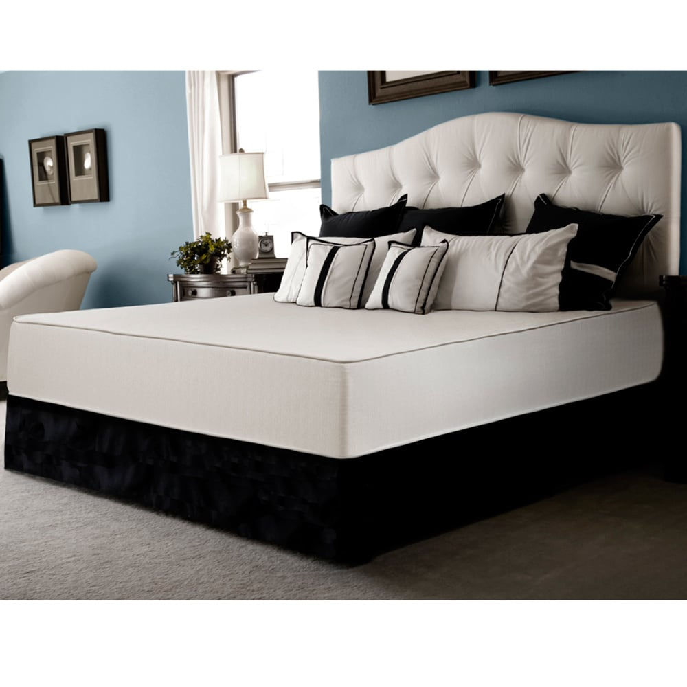 Select Luxury Select Luxury Reversible Comfort Firm 10-inch Cal King-size Foam Mattress