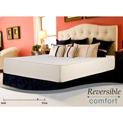 Select Luxury Reversible Comfort Firm 10-inch Cal King-size Foam Mattress