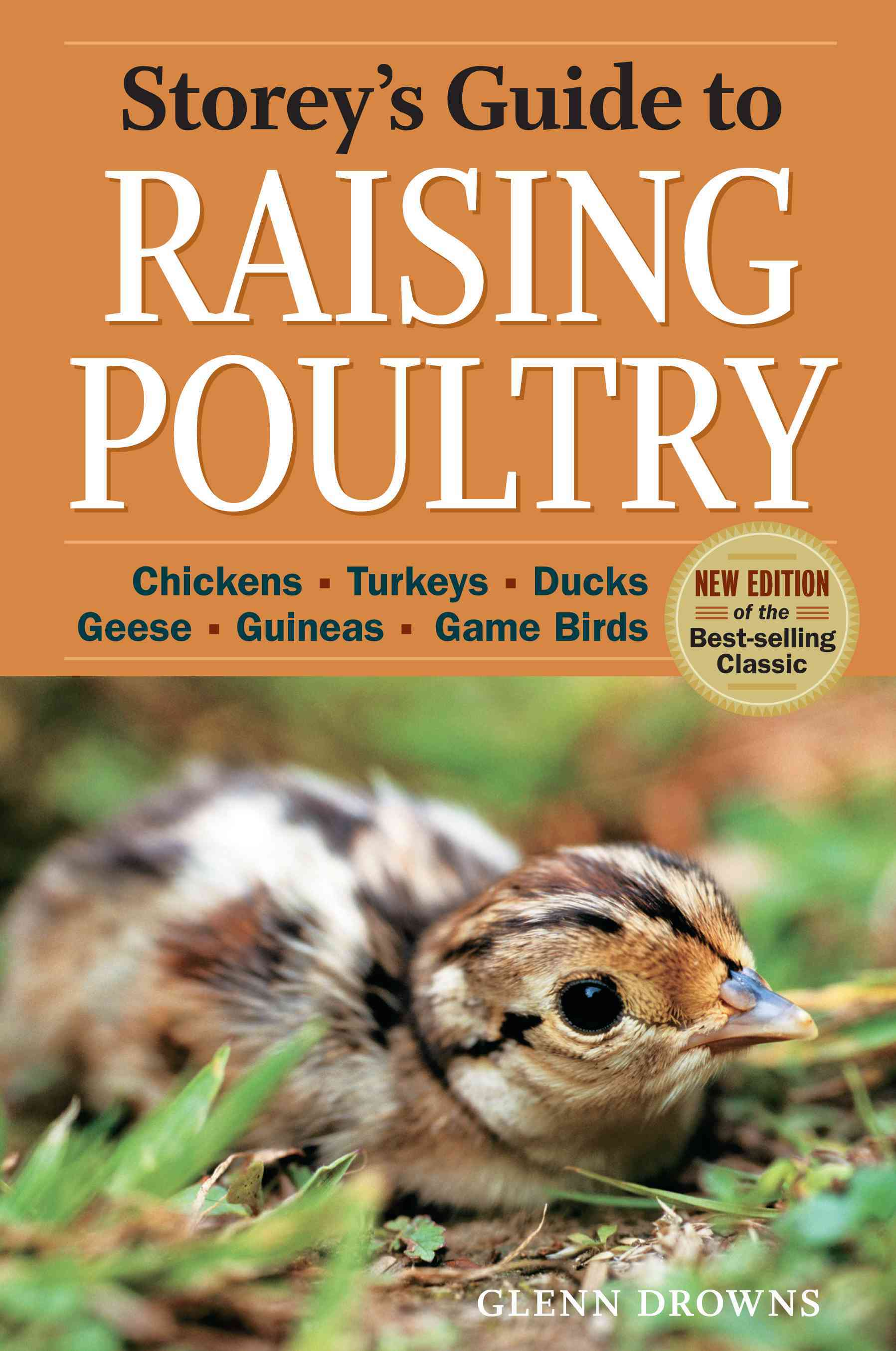 Storey's Guide to Raising Poultry: Chickens, Turkeys, Ducks, Geese, Guineas, Gamebirds (Paperback)