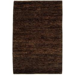 Safavieh Hand-knotted All-Natural Earth Brown Hemp Rug (5' x 8')