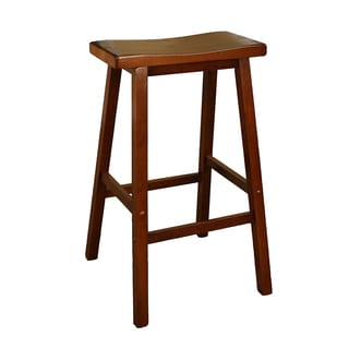 Sumatra 24-inch Counter Height Saddle Stool