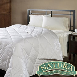 Natura Wash 'N Snuggle Washable Wool Full/ Queen-size Comforter