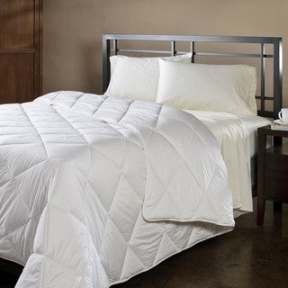 Natura Wash 'N Snuggle Washable Wool Twin-size Comforter