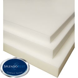 SplendoRest 4-inch Conventional Foam Mattress Topper