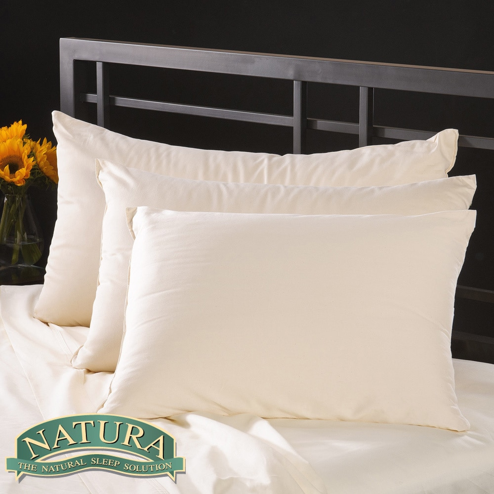 Natura World Natura Pure Virgin Wool-filled Pillow with 230 TC Cover