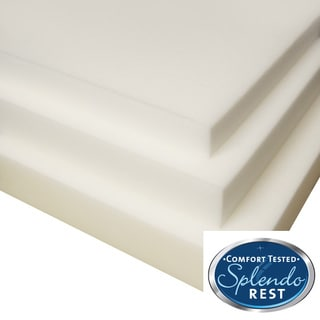 SplendoRest 2-inch Conventional Foam Mattress Topper