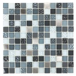 ICL Metal Wave Mix Mosaic Tiles E-2110 (Case of 11)
