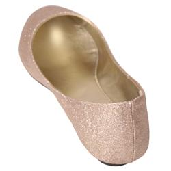 Journee Collection Women's 'Hunter-51' Glitter Ballet Flats