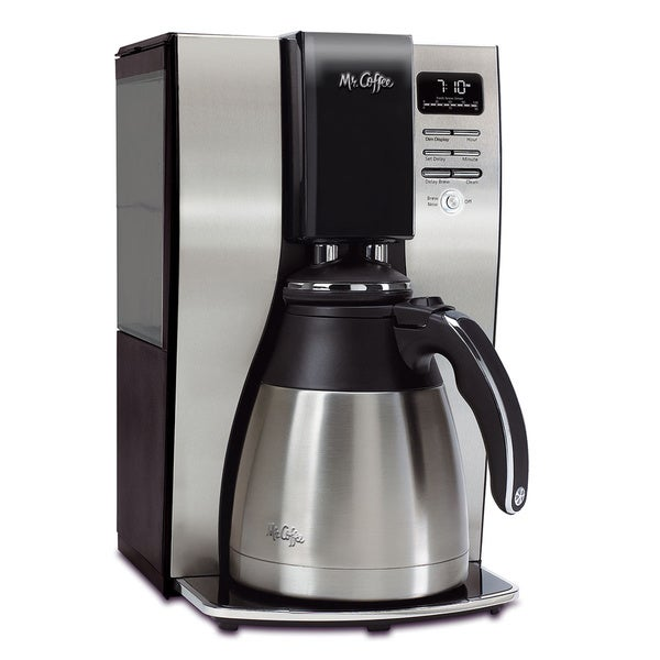 Mr. Coffee 10-cup Optimal Brew Programmable Coffee Maker with Thermal Carafe 8072831