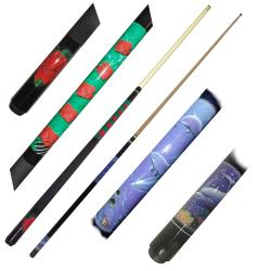 Girl designs Women's 58-inch Billiard Cue Sticks (Set of 4)