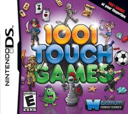 Nintendo DS - 1001 Touch Games - By Maximum Family Games