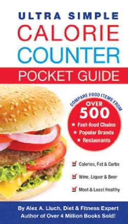 Ultra Simple Calorie Counter & Diet Journal (Paperback)