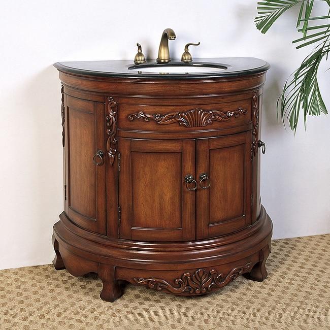 Granite Top 36-inch Single Sink Vanity