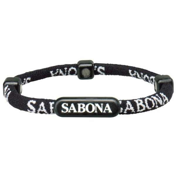 Sabona Black Athletic Bracelets (Pack of 2)